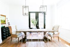 The best dining room decorating ideas from domino.com. Creative dining room decorating ideas for small spaces.