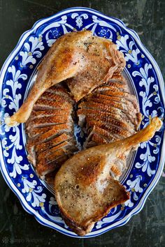 How to Roast a Goose ~ Step-by-step detailed instructions and photos on roasting a goose. ~ SimplyRecipes.com