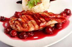 Kurczak w wiśniach / Chcicken in Cherries  www.kiermusy.com.pl