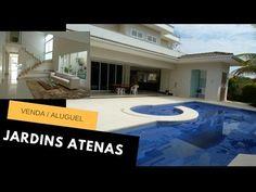 Casas Jardins Atenas Goiânia - Moderno e Luxuoso Sobrado 4 suítes - Casas e Apartamentos de luxo a Venda