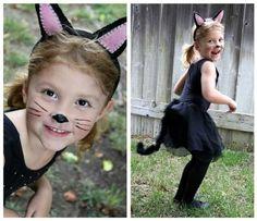 disfraz de gata para niñas