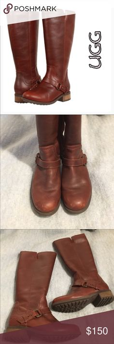 UGG Dahlen Boots (Bourbon) ❄️Winter WD Host Pick❄️ Description listed in last photo. *NOTE* these were discounted by the automated Posh discount arrow with which somehow changed the price to 13$ as opposed to the correct amount of 130$. UGG Shoes Winter & Rain Boots