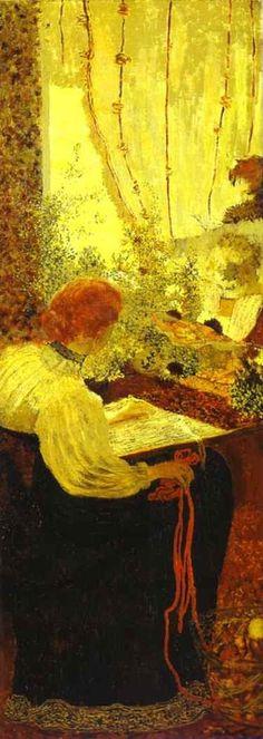 Its About Time: Jean Édouard Vuillard 1868-1940 adored model & muse Misia Godebska Sert Natanson