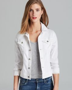AG Adriano Goldschmied Jacket - Robyn Denim | Bloomingdale's