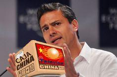La verdadera razon del viaje de Peña Nieto a China. Se compro su cajita.