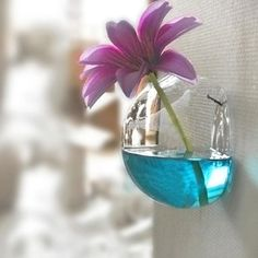 Hanging Semicircle Crystal Flower Vase Hydroponic Container Home Decor Exquisite Free shipping #69717