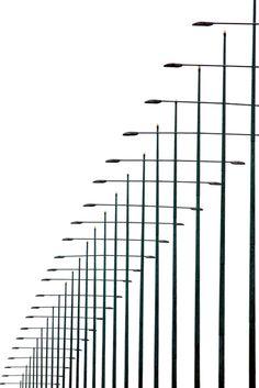 """Light Poles"" by Giorgio Karayiannis"