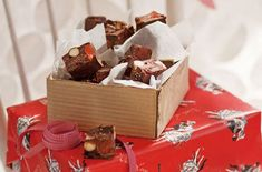 Homemade chocolates and sweets - Turkish delight rocky road - goodtoknow Homemade Food Gifts, Homemade Sweets, Homemade Chocolates, Edible Gifts, Homemade Turkish Delight, Rocky Road, Chocolate Recipes, Sweet Treats, Candy