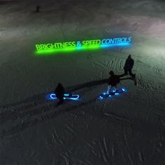 FamousLED's LED Snowboard lighting kits are awesome!!!!