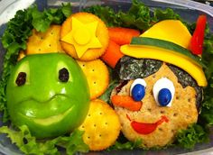 Gallery of cute lunches that Heather makes for her son Good.