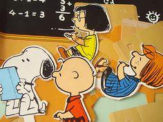 paperdolls Escola do Snoopy