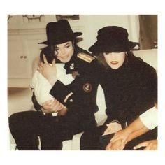 Imagem de babies, king of pop, and michael jackson