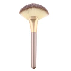 1pc Large Fan Makeup Cheek Blush Brush Soft Hair Face Powder Foundation Make Up Tool Professional Cosmetic Brush #Affiliate