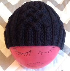 A needle and some thread: Snowtracks Cap (link to free pattern in the blog post)