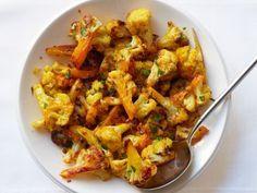 Saffron Roasted Cauliflower by foodnetwork #Cauliflower #Saffron #Healthy