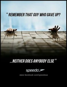 Swimming Motivation Quote