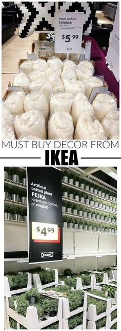 YOU WON'T WANT TO MISS THIS LIST!!! How to use everyday IKEA items to update and decorate your home! - #IKEA #ikeahack
