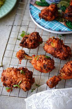 Hyderabadi Wedding Chicken Fry - Savory&SweetFood