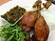 Arie's Kitchen Fried Duck Recipe