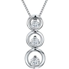 Jools by Jenny Brown Cubic Zirconia Three Tiered Circle Necklace (1,740 EGP) ❤ liked on Polyvore featuring jewelry, necklaces, chain pendant necklace, chain necklaces, circle pendant, tiered necklace and circle pendant necklace