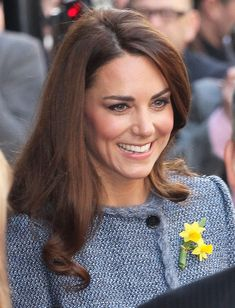 Catherine, Duchess of Cambridge visits Fortnum & Mason, a luxury department store on March 1, 2012 in London.