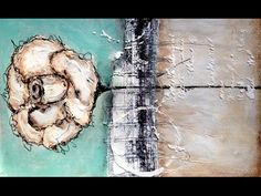 Grunge Rose | Mixed Media Painting – NIKA IN WONDERLAND Mixed Media Art Tutorials