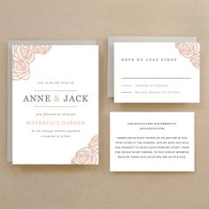 Instant Download  Roses  DIY Printable Wedding by SwellAndGrand, $25.00