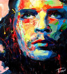 Ernesto Che Guevara #ErnestoCheGuevara #portrait #art #painting #abeliyart Artem Beliy