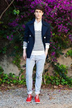 Can't beat a classic Breton stripe