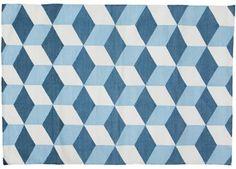 Handgewebter Teppich 'Bowie' (120x180cm)