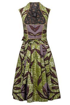 Noh Nee dirndl dress Anna made of African fabrics