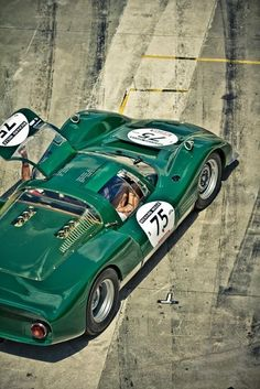 Porsche 906 - The '906' or Carrera 6 was the last street-legal racing car from Porsche. Only 50 examples were produced for 1966 in order to meet the homologation requirements of FIA's all new Grp4 Sports Car category.
