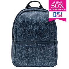 BACKPACK - BECAUSE I AM A GIRL Fashion Backpack, Backpacks, Bags, Products, Handbags, Dime Bags, Women's Backpack, Lv Bags, Purses