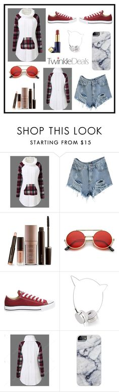 """""""..."""" by love88-90 ❤ liked on Polyvore featuring Laura Mercier, ZeroUV, Converse, Skinnydip and Estée Lauder"""