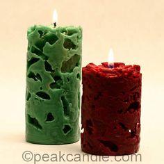 velas decorativas com gelo - Pesquisa Google