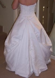 wedding dress bustle styles