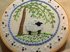 Another French Knot Sheep