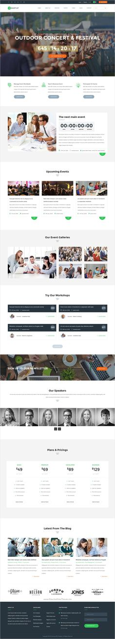 Venta - Event   Conference HTML Template Modern, Conference - conference schedule template