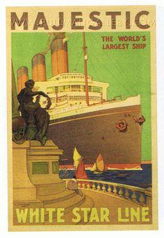 SS Majestic, White Star Line