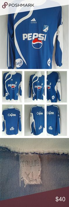 c51a904e1fb9e Adidas Pepsi 2009 Home Soccer Jersey XL Here s a nice looking royal blue