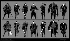 Human and Orks live in the same world, the first ones being technologically more advanced ( first gun powder weapons like the ones that went around europe roughly around the XVth century), the Orks being rougher and closer to a tribal culture mindset. Character Creation, Game Character, Character Concept, Concept Art, Monster Characters, Sci Fi Characters, Game Loft, Person Sketch, Mechanical Art