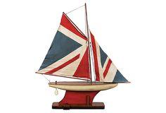 Union Jack Pond Yacht on OneKingsLane.com