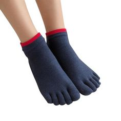 Adaptable 1 Pair Mens Cotton Toe Sock Pure S Five Finger Socks Breathable 6 Colors In Pain Underwear & Sleepwears