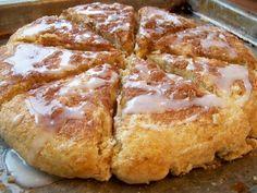Glazed Cinnamon Scones!