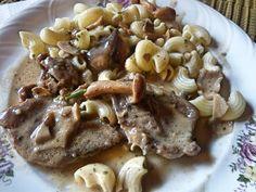 Vajpuha husi, krémes, gombás íz, egy fantasztikus ebéd, gyorsan, könnyen!