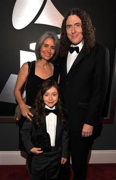 Weird Al & family at the Grammy's 2012