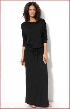 Black Knit Dresses, Casual Dresses