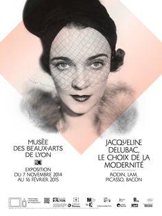 """Expo """"Jacqueline Delubac, le choix de la modernité"""", du 7 novembre 2014 au 16 février 2015"""