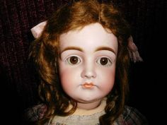 24'' Antique Closed Mouth German Kestner Doll With Great Early Kestner from ow on Ruby Lane
