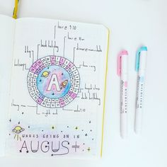 My monthly spread. I'm not liking this as much now as I did at the start of the month but at least August is looking a bit busier now. My highlight so far is going kayaking. How about you? . . . #bulletjournal #bulletjournaljunkies #bujo #bulletjournalmonthlylog #monthlyspread #august #kayaking #hwarang #choongmoo #love